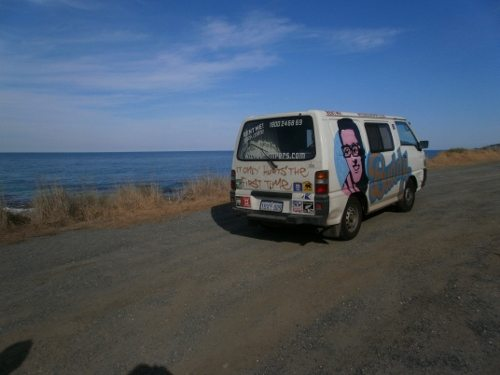 campervanning in Australia