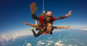 tandem skydive mission beach australia cairns